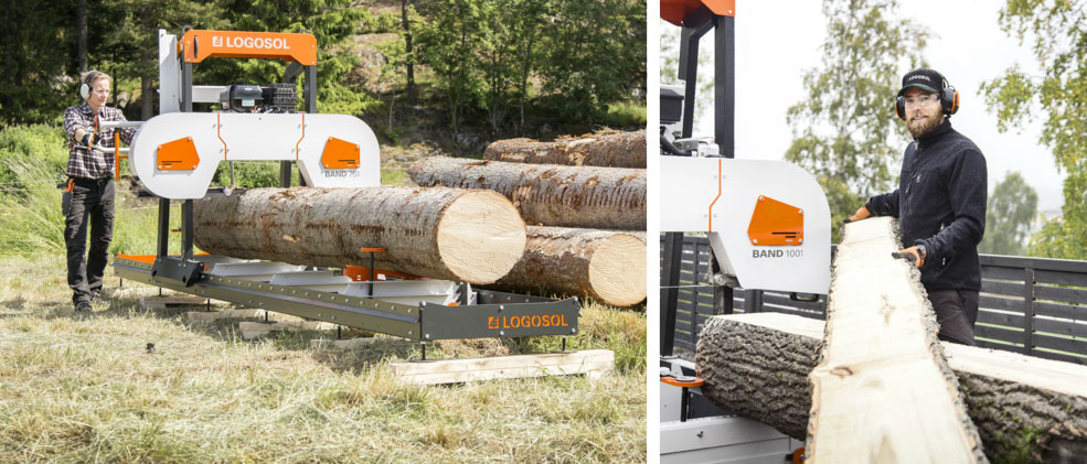 Welcome to Logosol - Swedish Wood Processing Products!